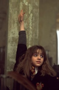hermione+raised+hand