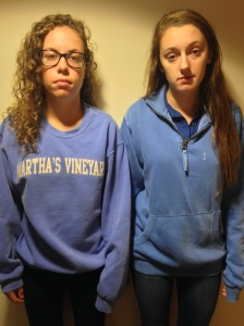 People have started to call us out on these sweatshirts being similar.
