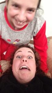selfie sesh with Ana