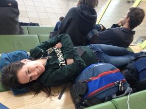 Airport naps