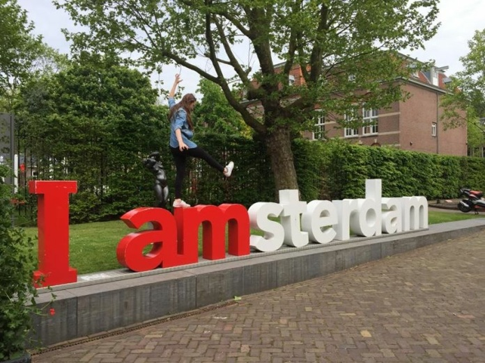 Either the IAmsterdam sign shrunk or I grew