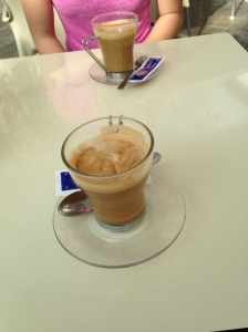 I tried the coffee in Spain, and it was delicious.